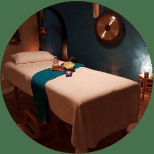 Salle de massage de J'ananda, massages traditionnels ayurvédiques à Guénange